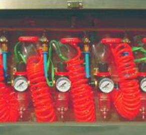 矿用压风自救装置
